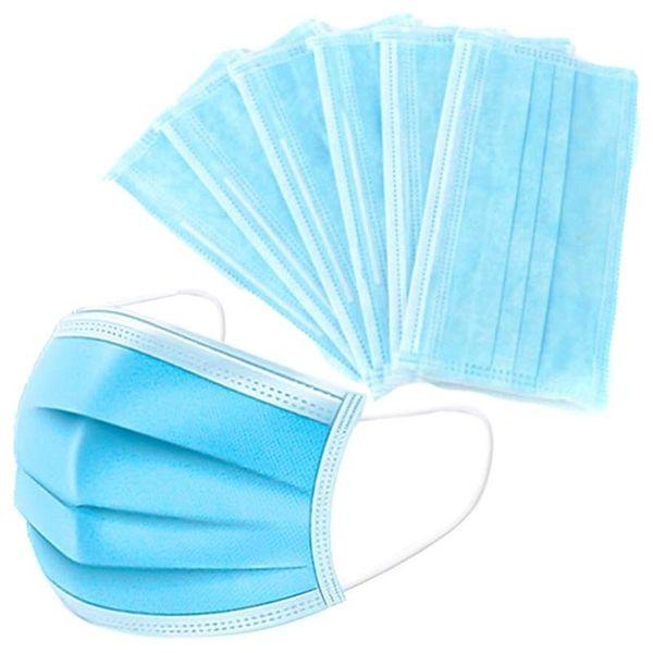 masque chirurgical bleu 3 plis