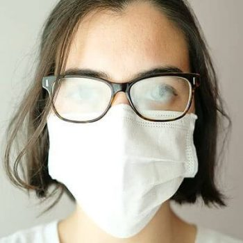 buée lunette masque